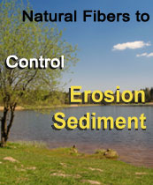 complete line of erosion control, sediment control, and bioengineering products